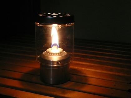 自作 オイル ランプ